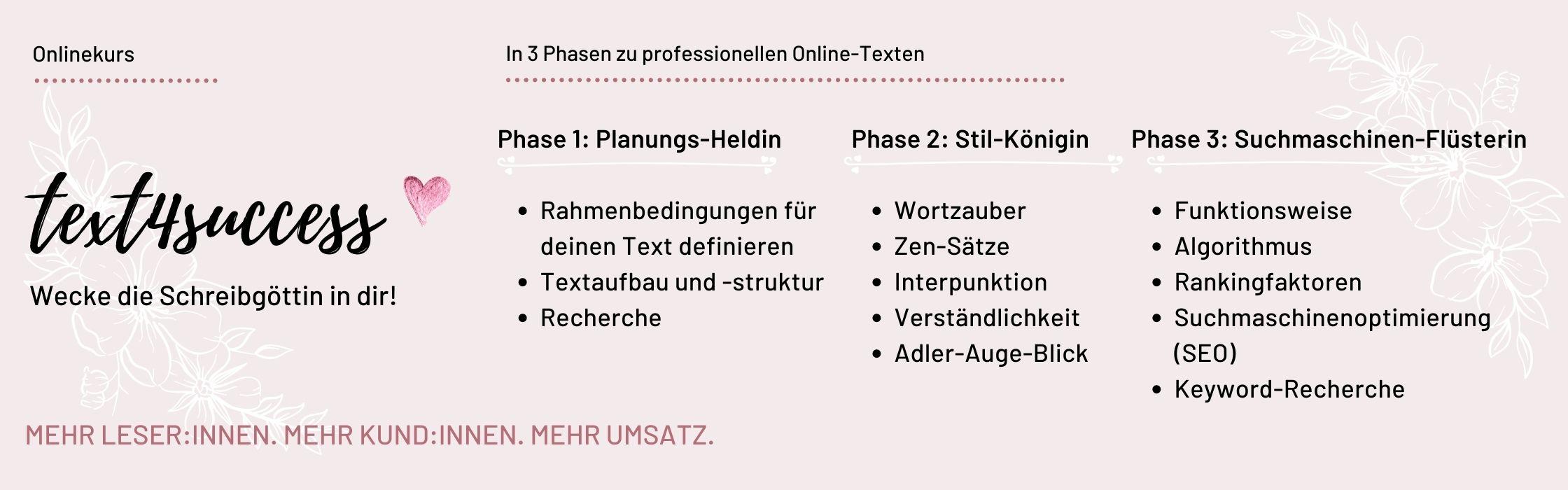 text4success onlinekurs banner